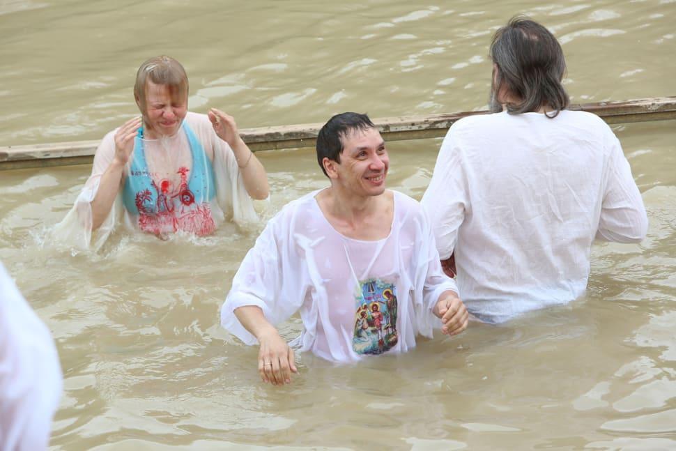 Renewing the baptism