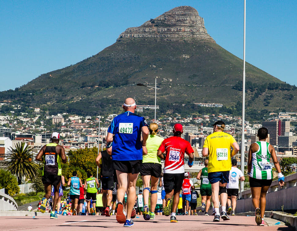 Best time to see Sanlam Cape Town Marathon in Cape Town