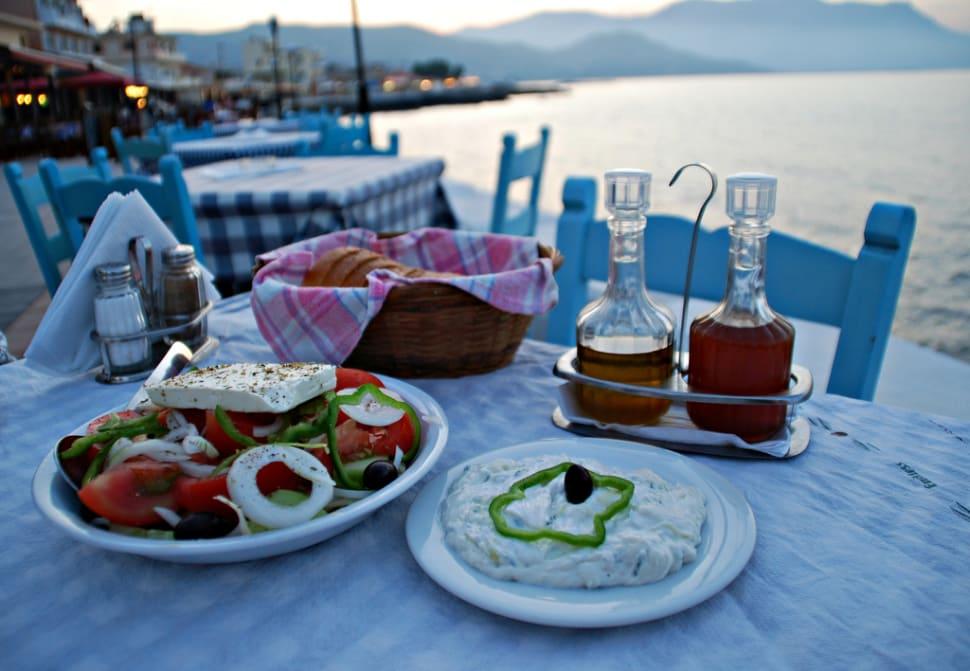 Greek Salad (Horiatiki Salata) in Crete - Best Time