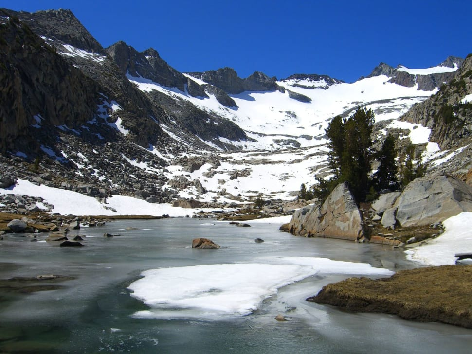 Glaciers in Yosemite - Best Season