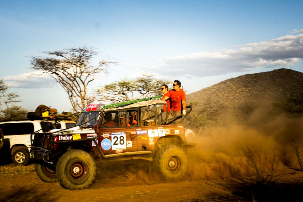 Rhino Charge in Kenya - Best Time