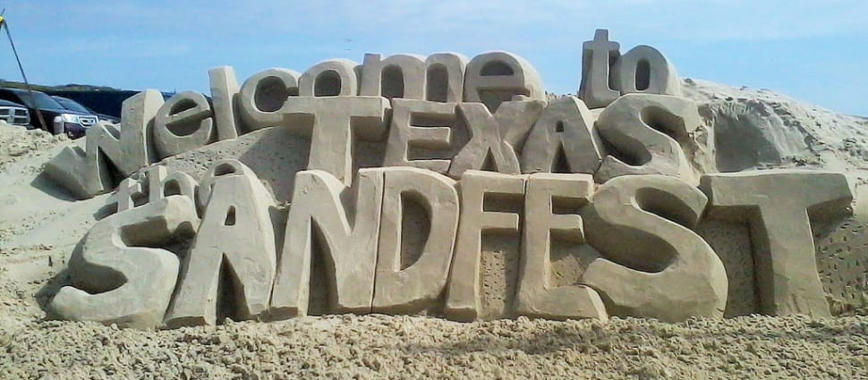 Texas SandFest in Texas - Best Time