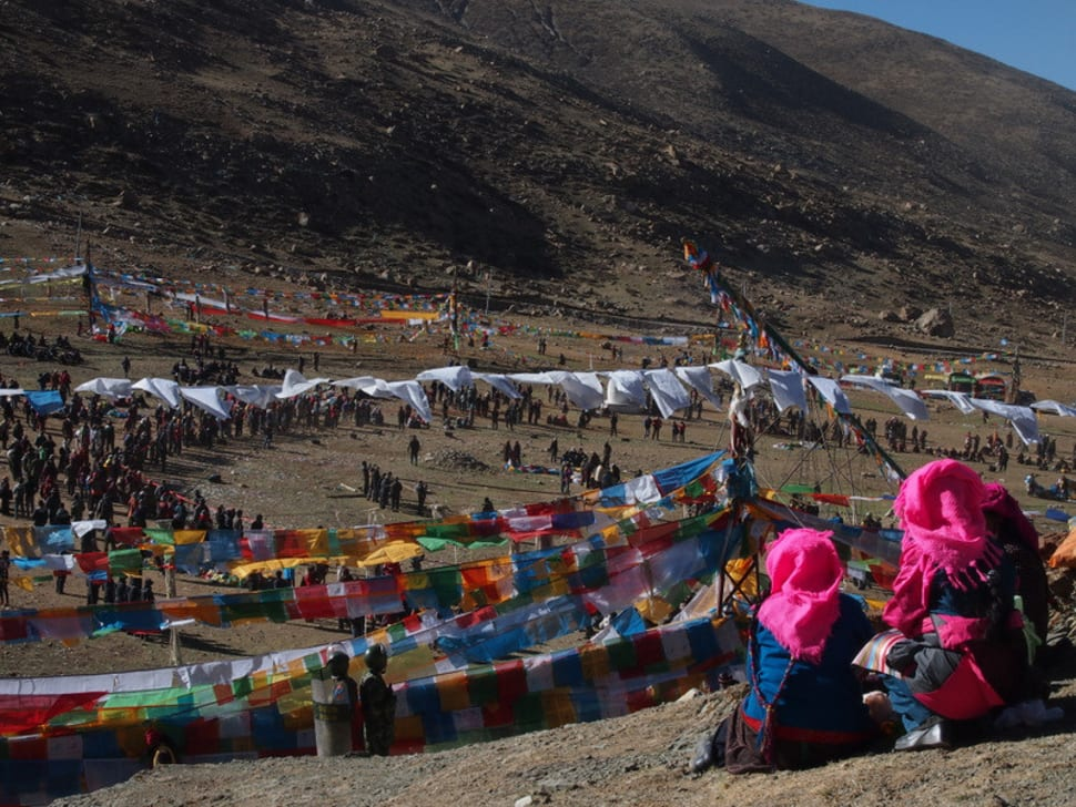 Best time to see Saga Dawa Festival in Tibet