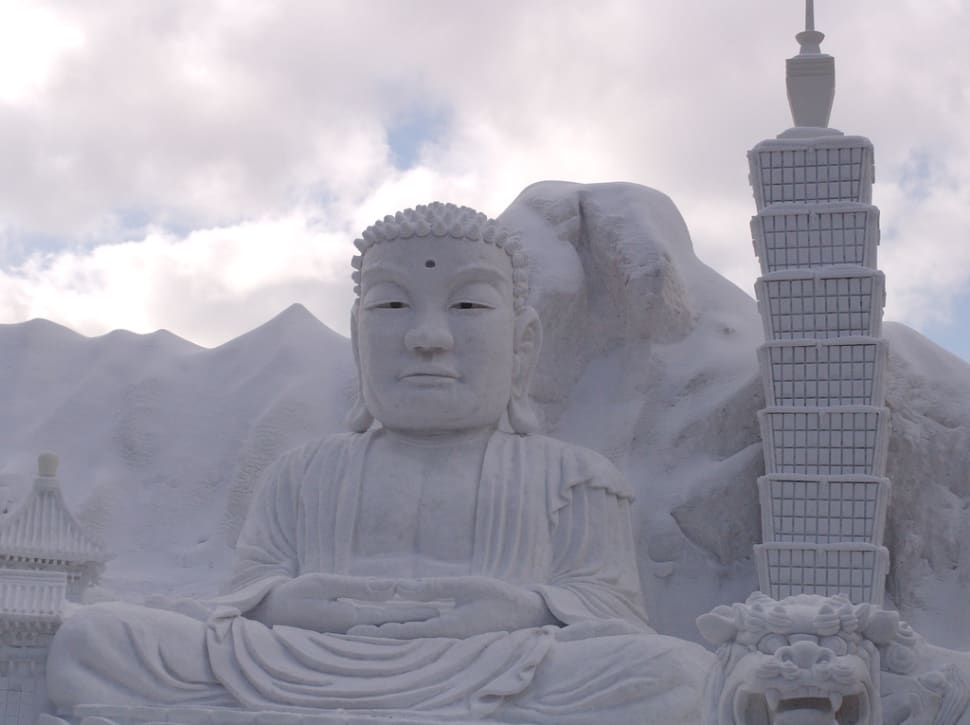 Best time for Sapporo Snow Festival in Japan