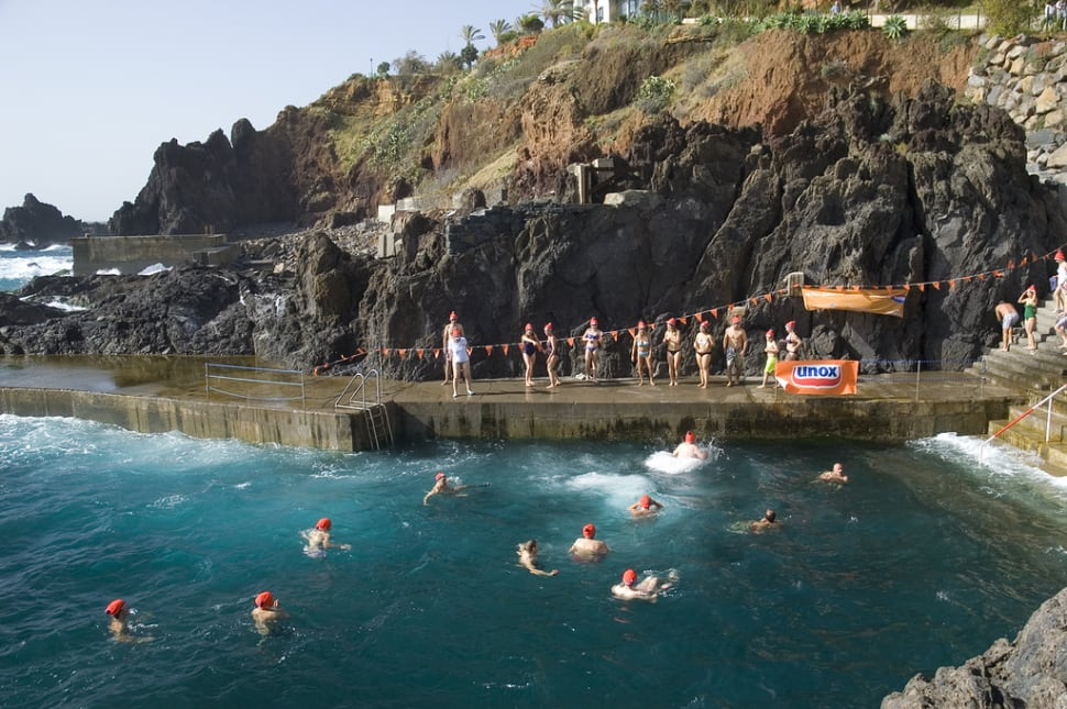 Best time for Madeira Plunge in Madeira