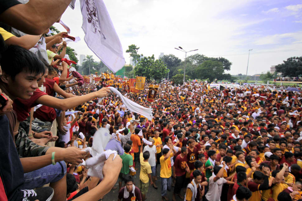 Best time to see Feast of the Black Nazarene in Philippines