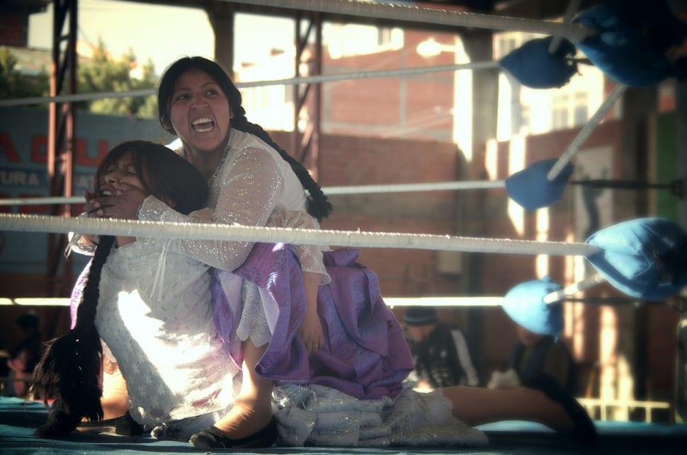 Cholita Wrestling in Bolivia - Best Time