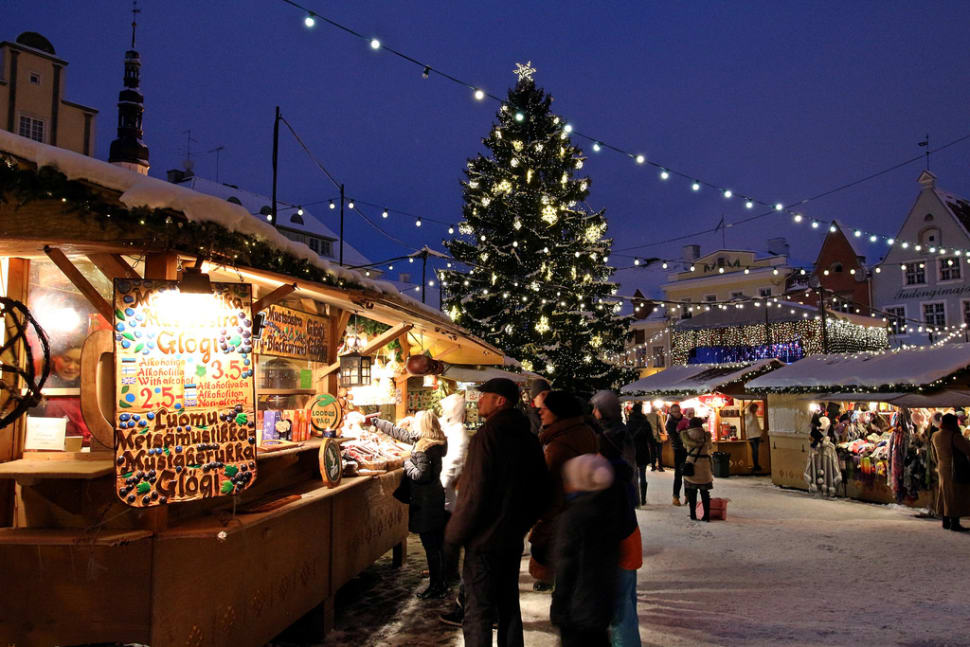 Best time to see Christmas Market in Tallinn in Estonia