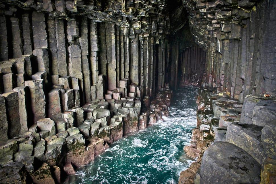 Fingals Cave on Staffa Island