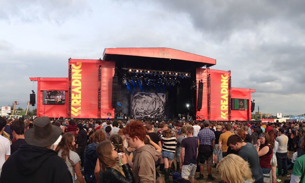 Main stage at the Reading Festival