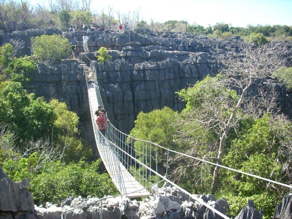 Best time for Stone Forest Tsingy de Bemaraha in Madagascar