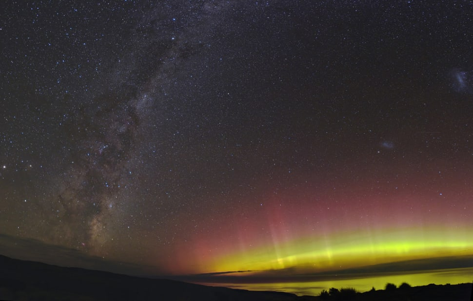 Best time for Aurora Australis in New Zealand