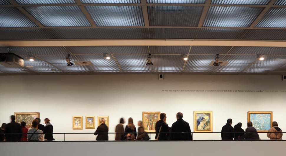 Best time for Van Gogh Museum in Amsterdam