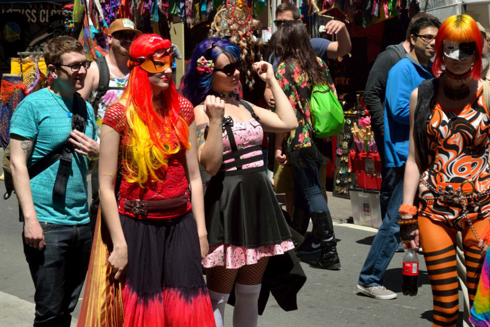 Best time for How Weird Street Faire in San Francisco