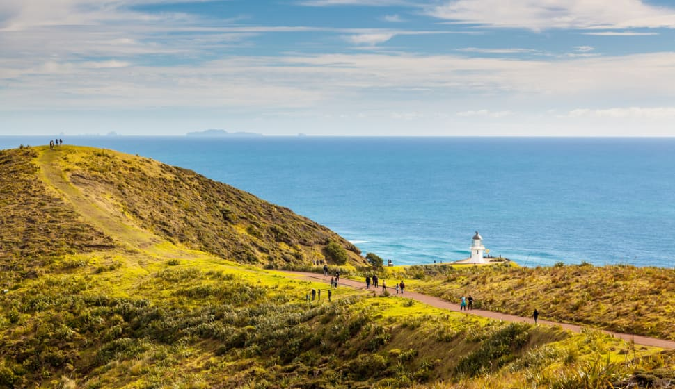 Cape Reinga and Lighthouse