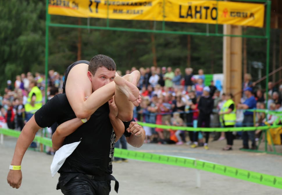 Wife Carrying World Championships in Finland - Best Season
