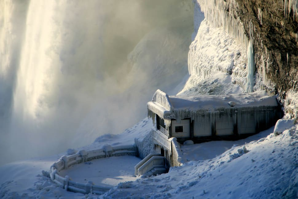 Best time for Journey Behind the Falls in Niagara Falls