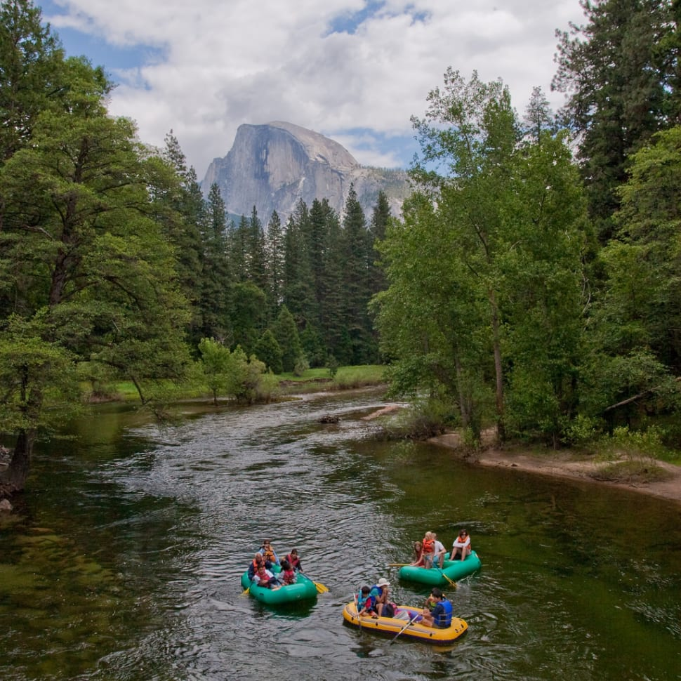 Rafting Along the Merced River in Yosemite - Best Season
