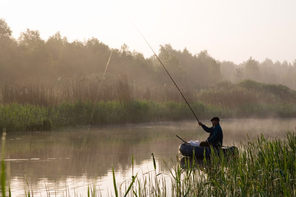Fishing in South of Estonia