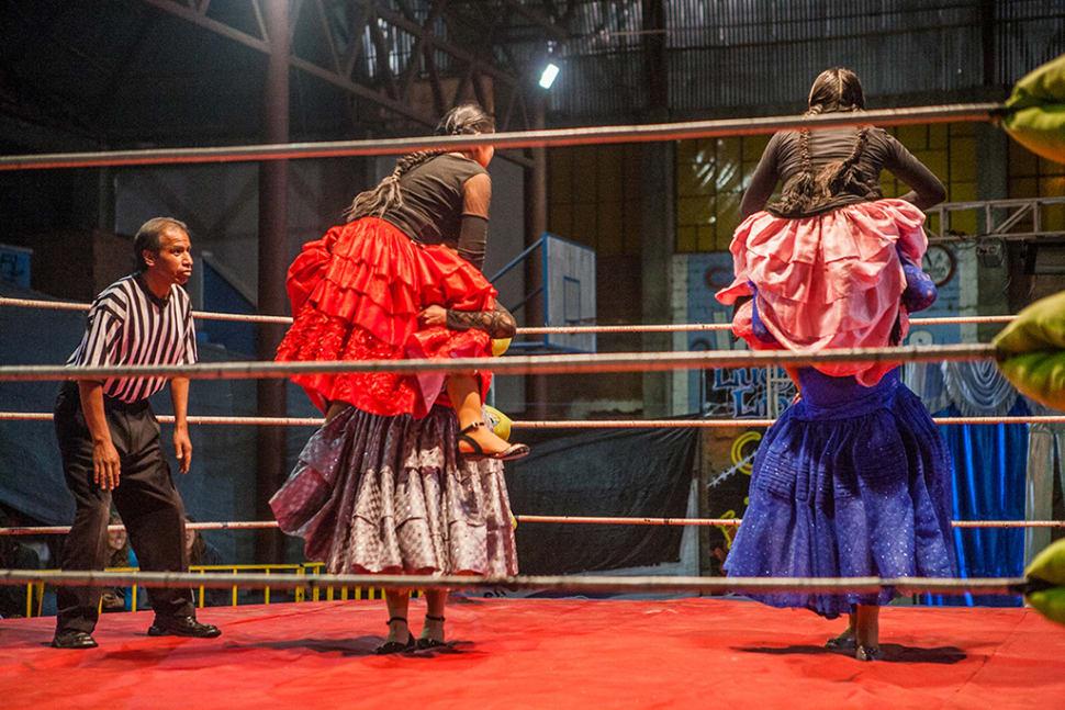 Cholita Wrestling in Bolivia - Best Season