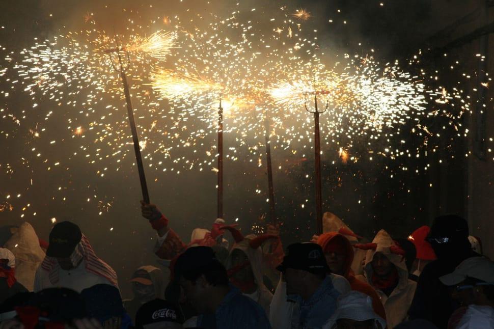 Nit de Foc (Fire Night)  in Mallorca - Best Time