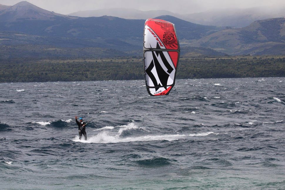 Kitesurfing on Nahuel Huapi in Argentina - Best Season