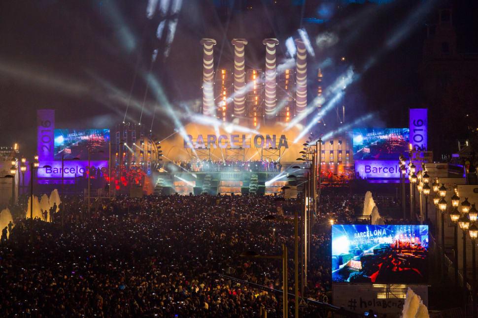 Nochevieja in Barcelona