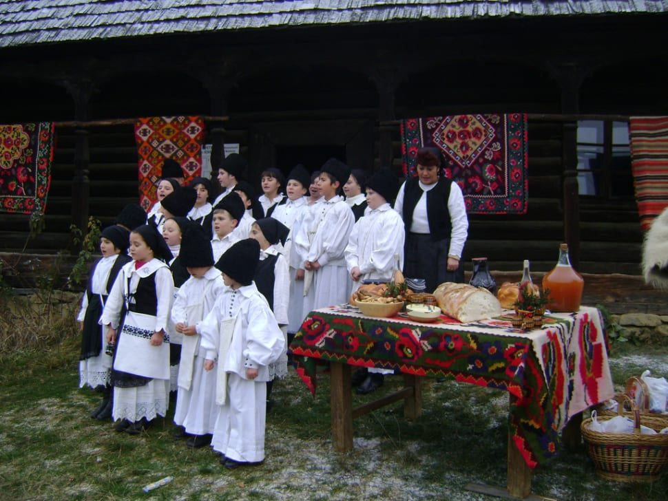 Carol Singing in Romania - Best Time