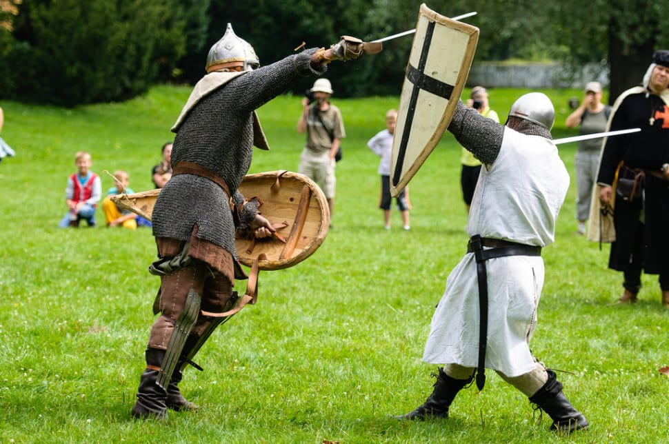 Medieval Knights Show at the Devín Castle in Slovakia - Best Season