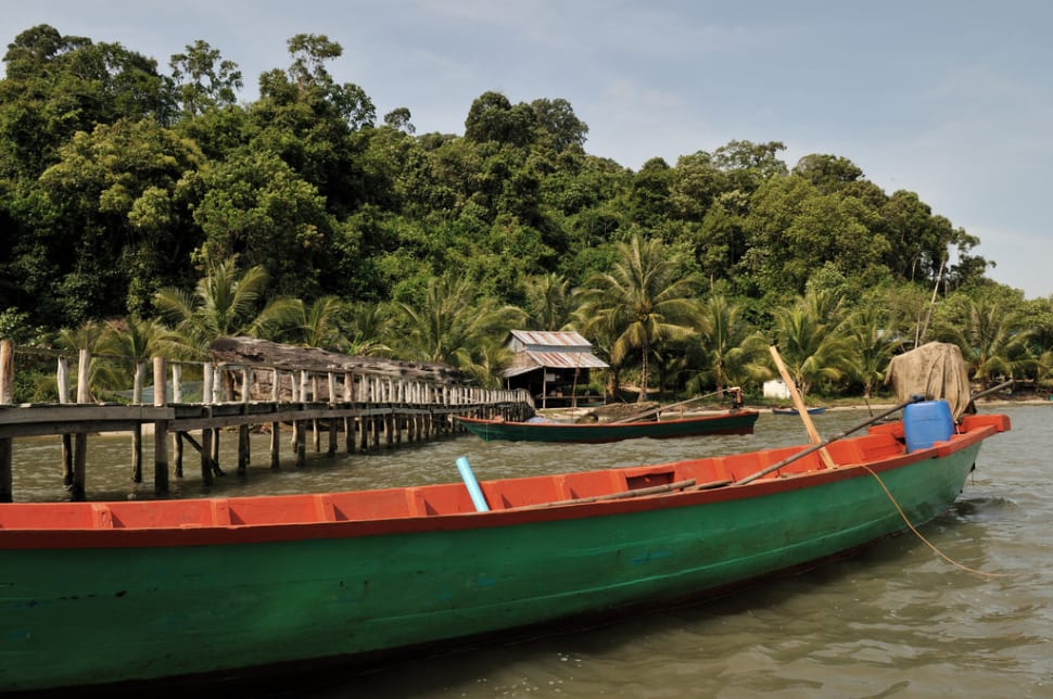 Best time for Explore Wildlife in the Ream National Park in Cambodia