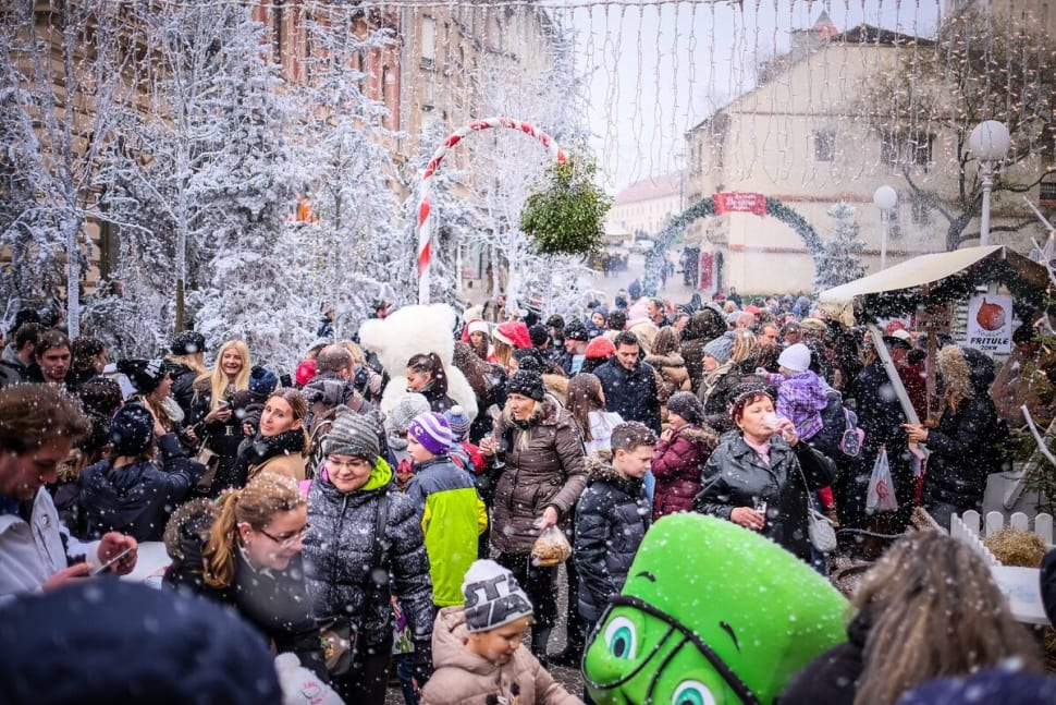 Best time to see Zagreb Christmas Market in Croatia