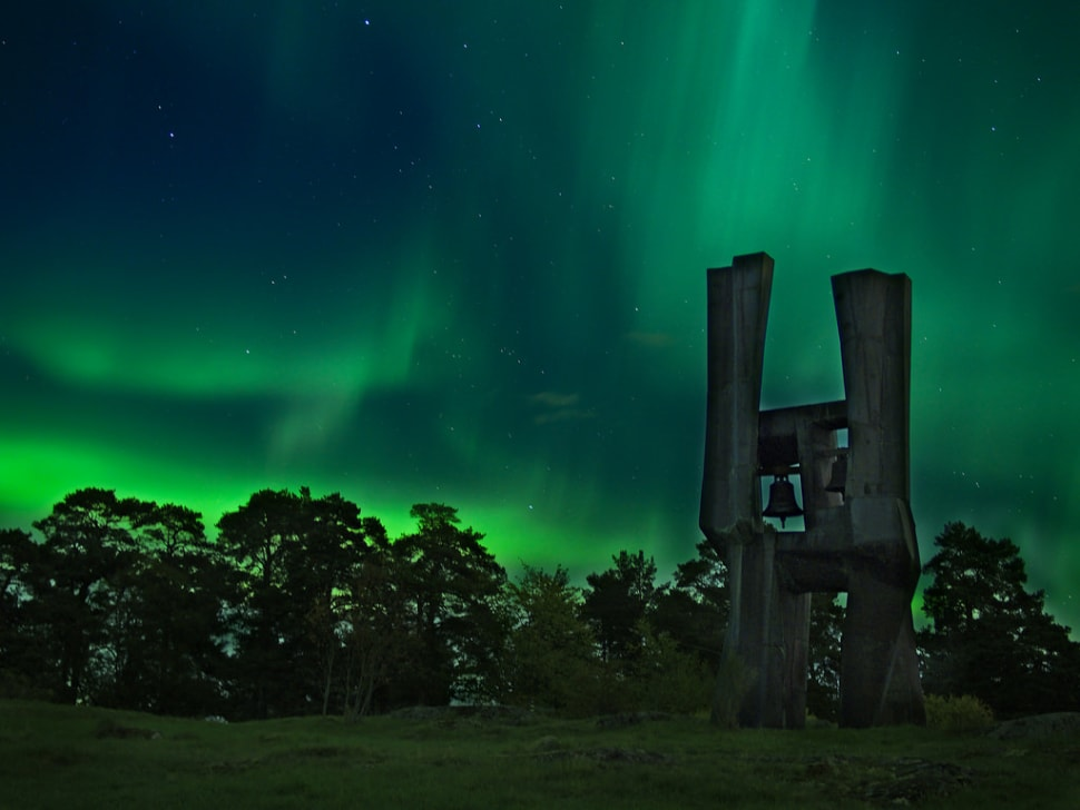 Best time for Northern Lights in Sweden