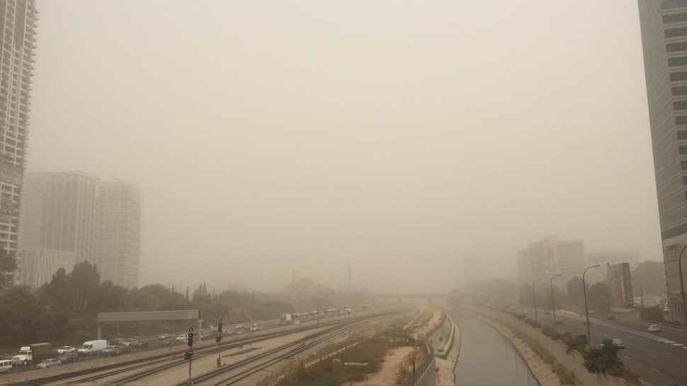 Best time for Dust Storms in Israel