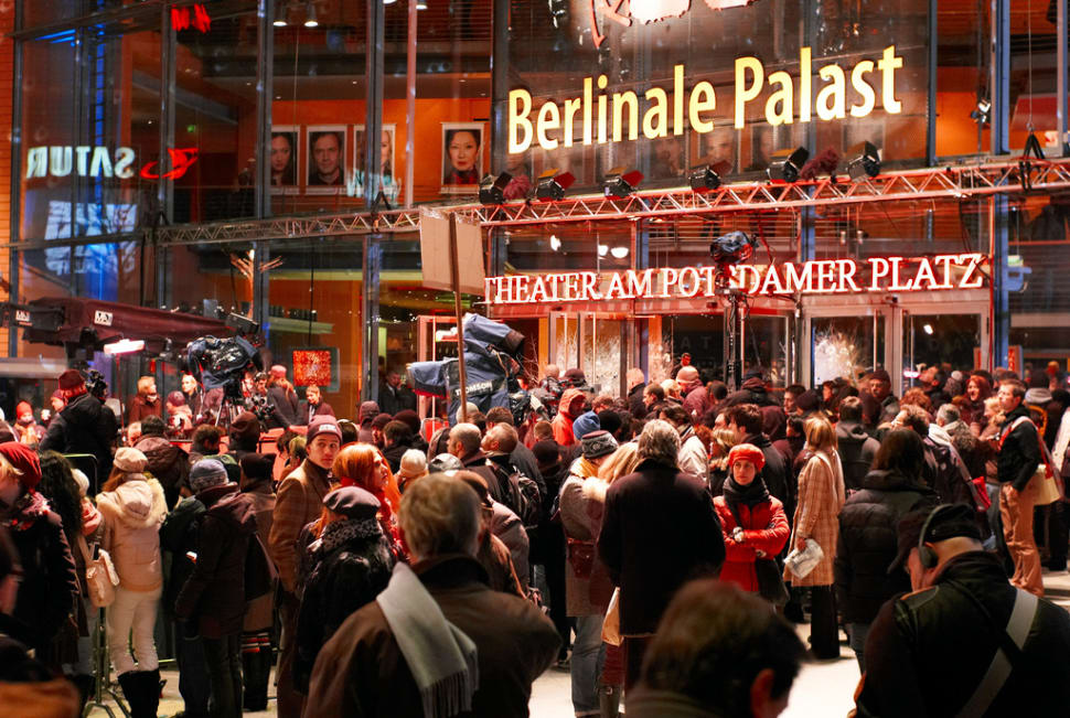 The Berlinale crowd