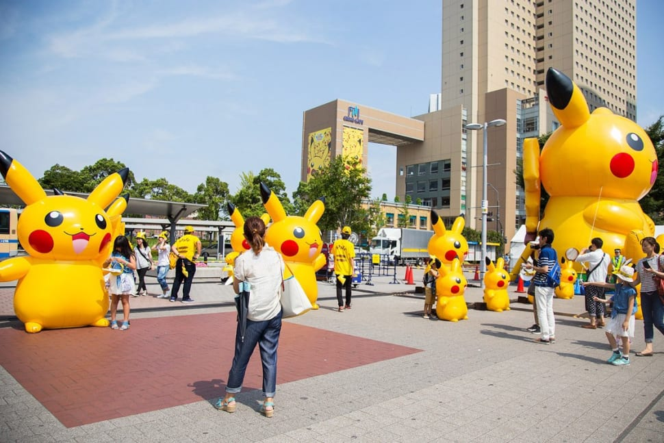 Best time for Pikachu Tairyou Hassei-Chu in Japan