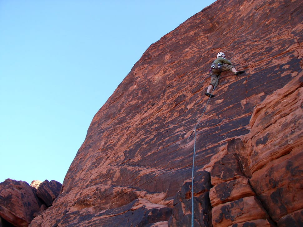 Best time to see Red Rocks Climbing in Nevada