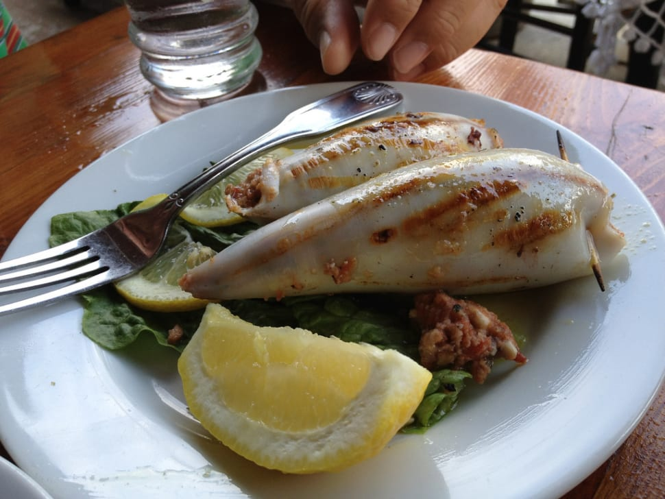 Best time for Klamari Mimlija or Stuffed Squid in Malta