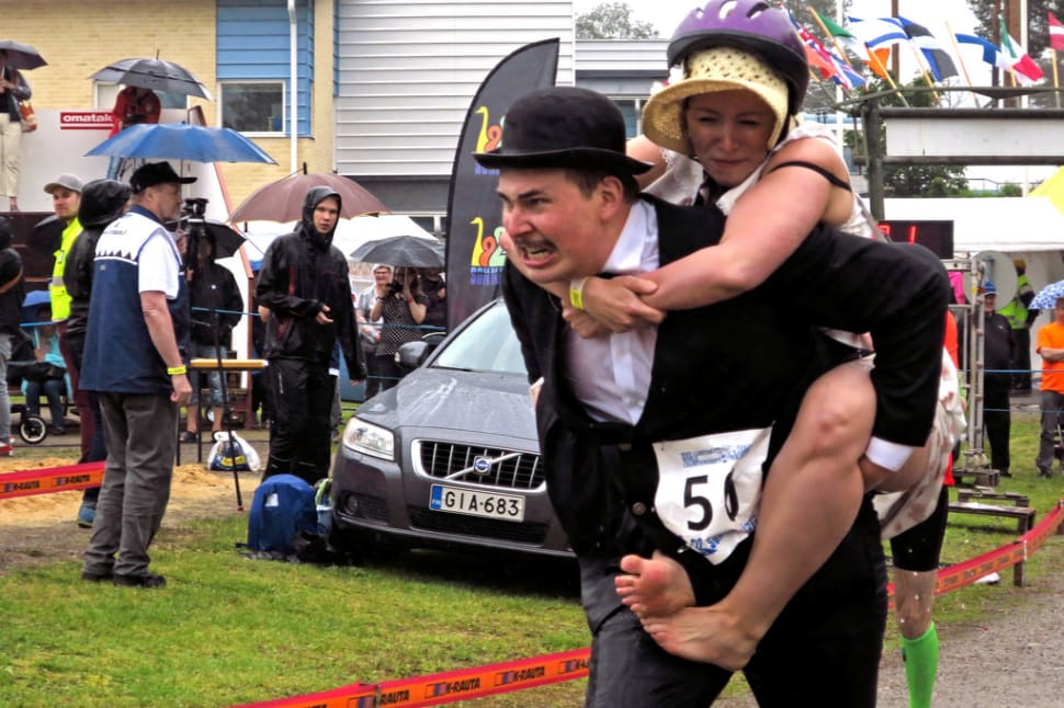 Things to do in Finland : Wife Carrying World Championships