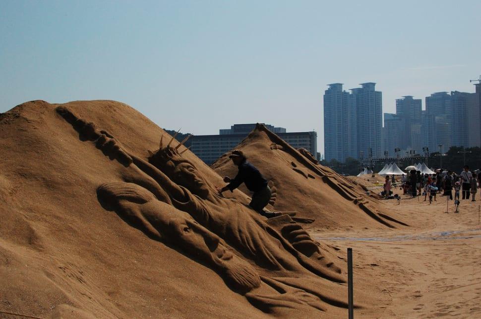 Haeundae Sand Festival in South Korea - Best Season