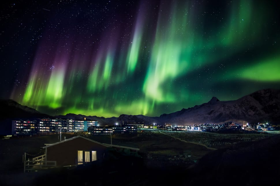 Northern Lights in Greenland - Best Season