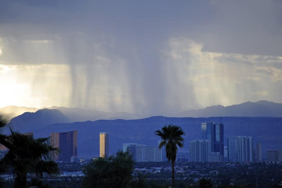 Monsoon Season in Las Vegas - Best Season