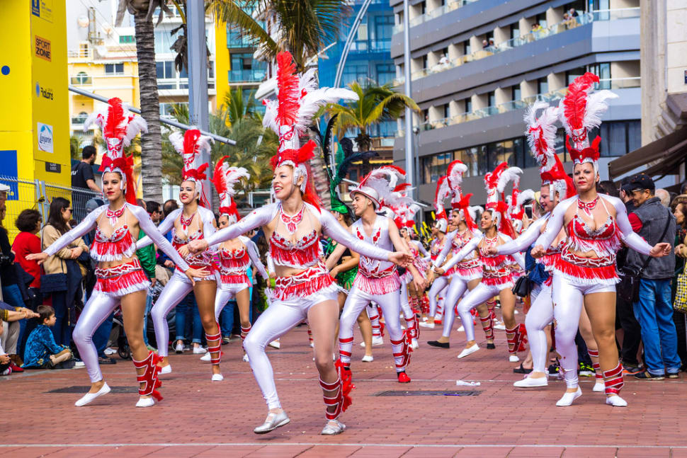 Best time to see Las Palmas de Gran Canaria Carnival in Canary Islands