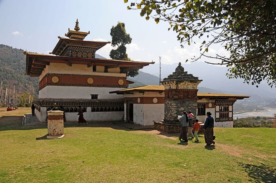 Best time for Fertility Blessing in Chimi Lhakhang Monastery in Bhutan