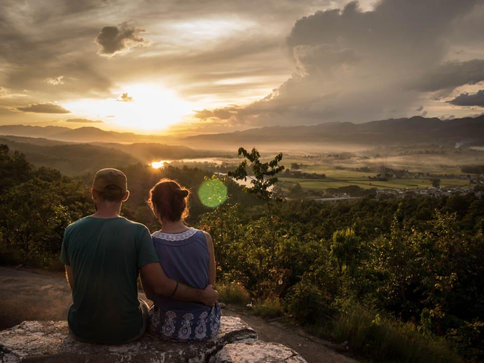 Sunset and Sunrise in Myanmar - Best Season