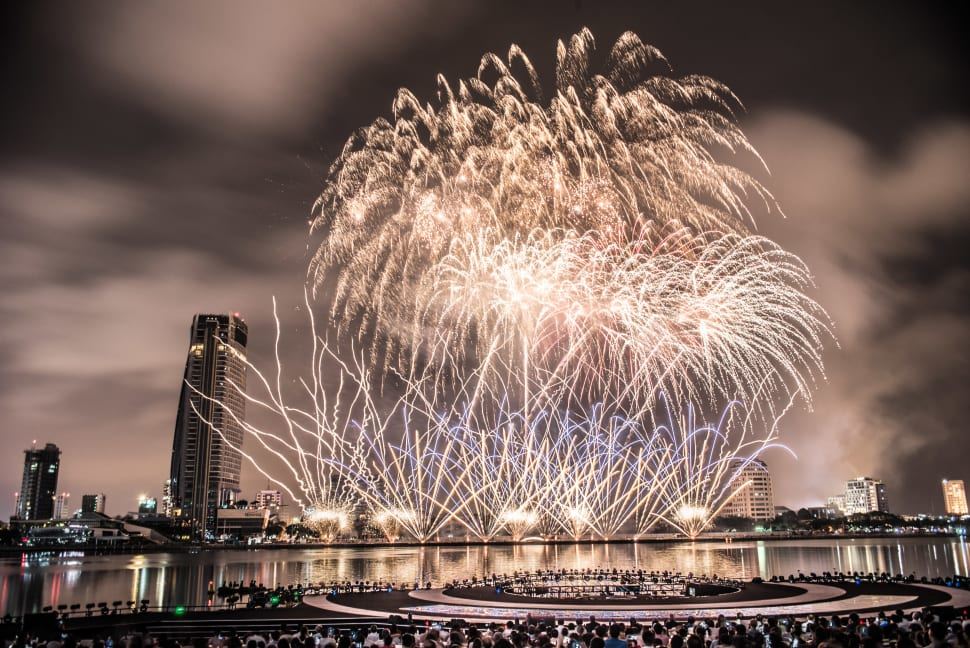 Best time to see Da Nang International Fireworks Competition in Vietnam