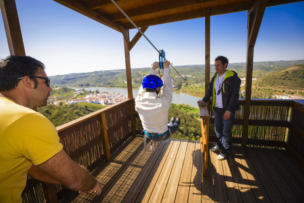 Spain to Portugal Zip Line (Limite Zero) in Spain - Best Season