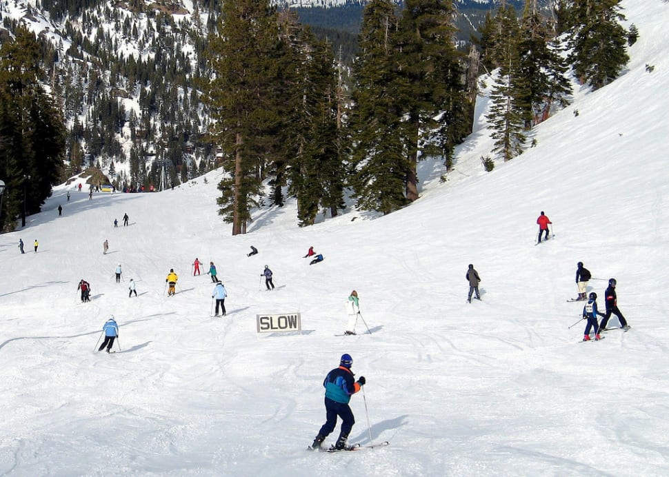 Skiing at Lake Tahoe in California - Best Season