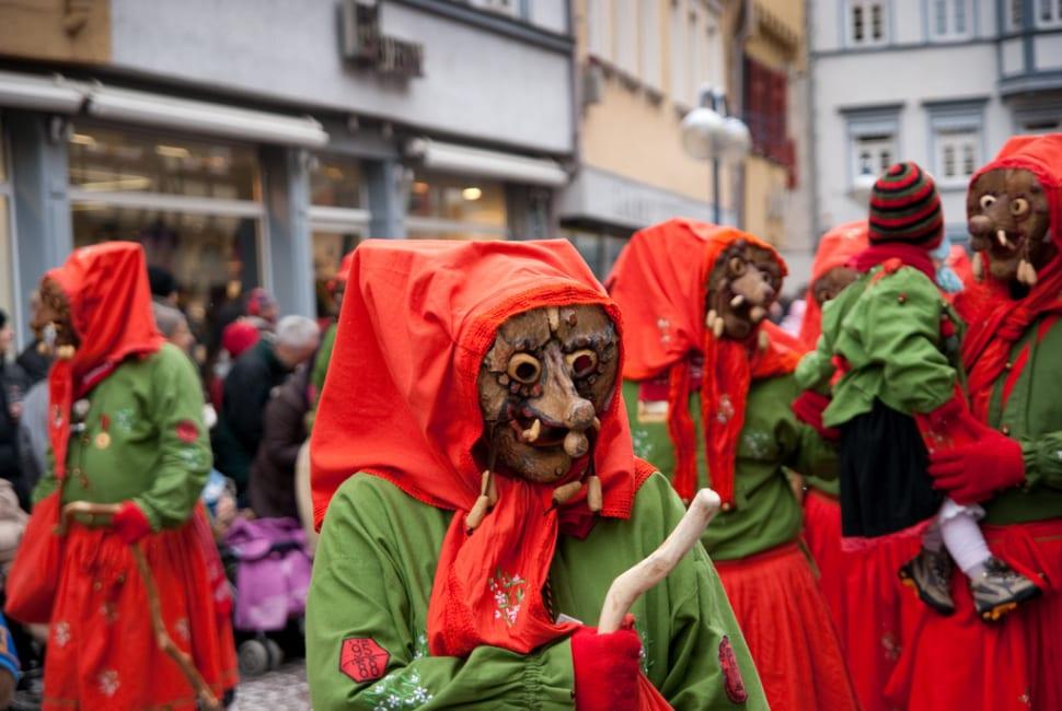 Fasching in Esslingen, Germany
