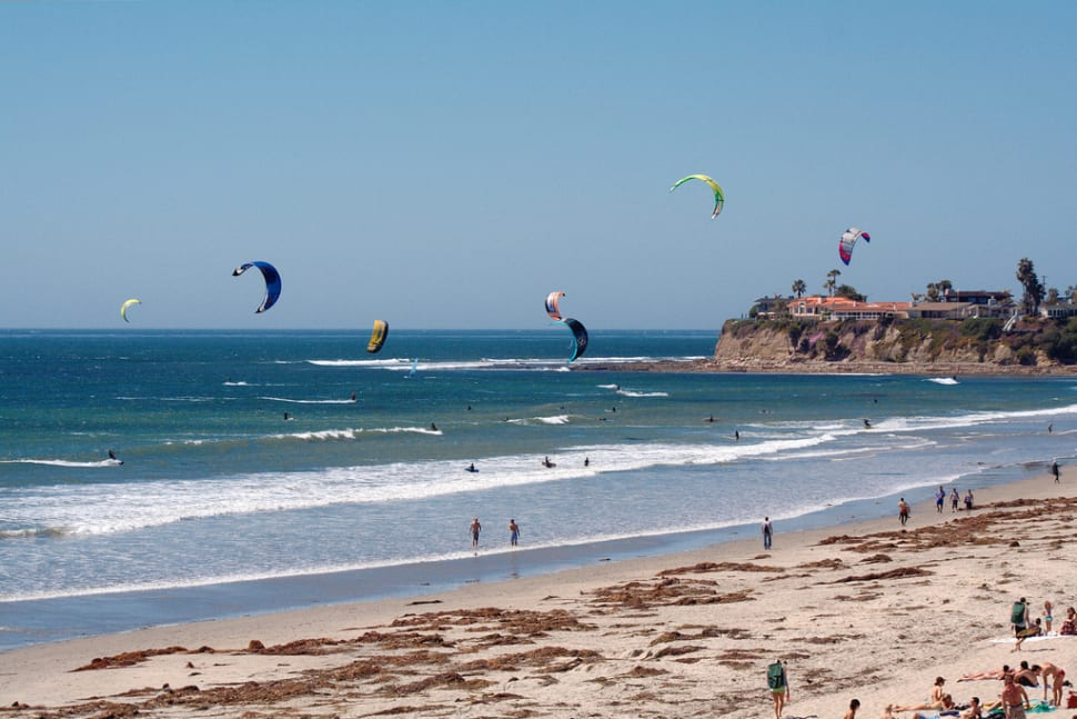 Kiteboarding  in California - Best Time