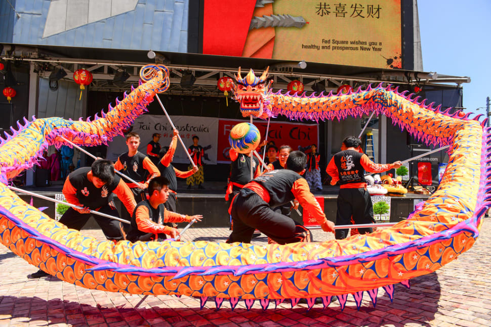 Best time for Chinese New Year in Melbourne